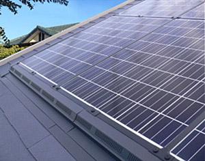 屋根材一体施工型「ソーラークロス」